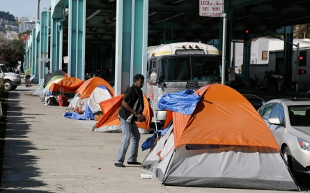 SF declares tent city of homeless is health hazard