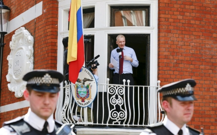 Assange 'unlawfully detained' in embassy, UN panel reportedly will rule