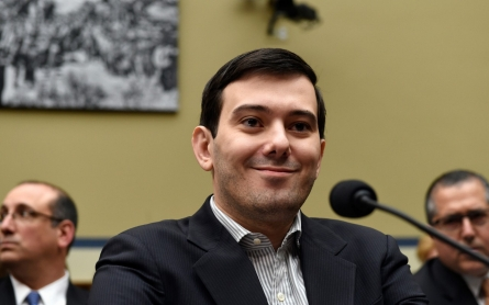 Indicted ex-CEO Martin Shkreli refuses to answer questions from Congress