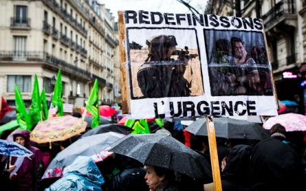 Rights group decries abuses under Paris state of emergency