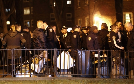 2 police officers shot in New York City