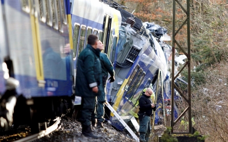 Head-on train crash in Germany kills at least 10, injures over 100
