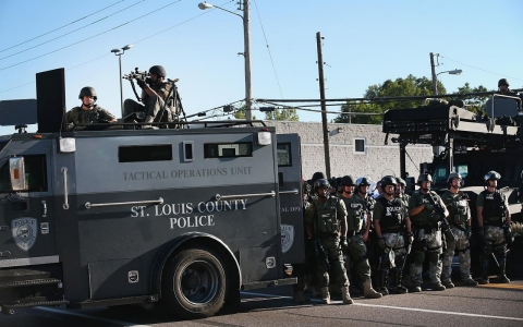 Thumbnail image for St. Louis County police to be relieved of duty in Ferguson, says Mo. gov.