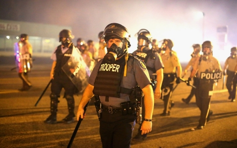 Thumbnail image for Ferguson battles play out in the street, courts and the press