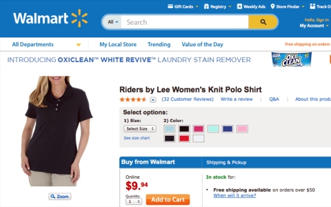Thumbnail image for Walmart imposes new employee dress code, suggests where to shop for it