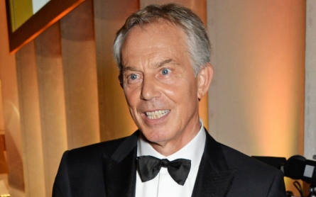 Tony Blair named Philanthropist of the Year by GQ
