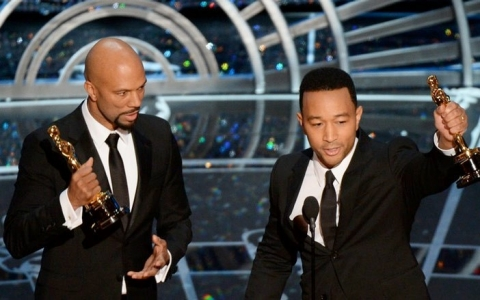 Thumbnail image for Common, John Legend use Oscars speech to add Selma's missing postscript