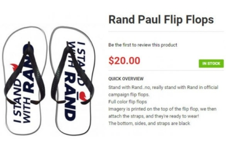 Sandal scandal! Rand Paul flip-flops on what to call flip-flops