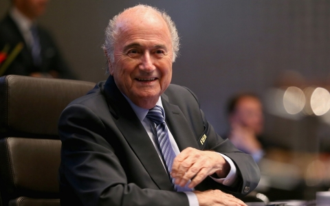 Thumbnail image for How safe is 'calm' Sepp Blatter's FIFA seat?
