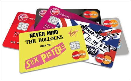 Filthy lucre: Virgin mints 'appropriate' Sex Pistols credit cards