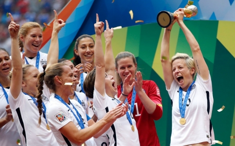 US women's World Cup victory