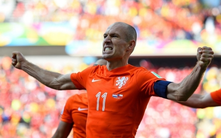 All eyes on Robben as Dutch take on Costa Rica
