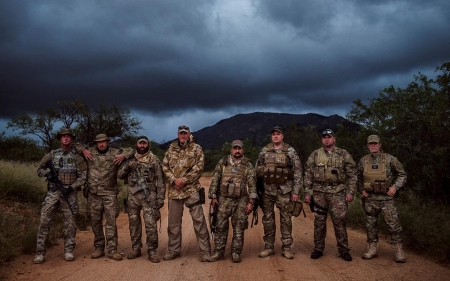 Desert Hawks: Paramilitary veterans groups stake out US-Mexico borderlands