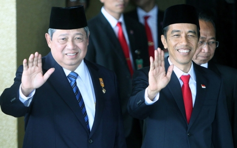 Thumbnail image for Indonesia's President Widodo sworn in
