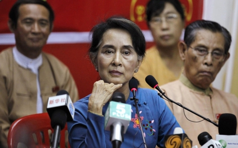 Thumbnail image for Suu Kyi says Myanmar reforms have stalled