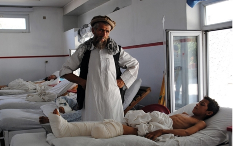 Thumbnail image for Afghan children pay for violence