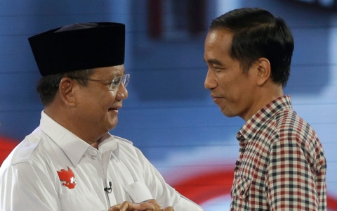 Thumbnail image for Voters face stark choice in Indonesia polls