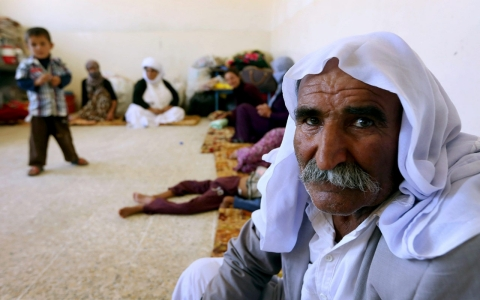Thumbnail image for Iraqi Yazidis: 'If we move, they will kill us'