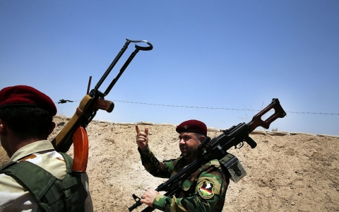 Thumbnail image for Kurdish rivals unite to fight Islamic State