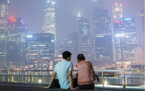 Thumbnail image for Singapore shrouded by smog