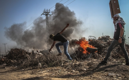 Palestinians protest throughout the West Bank, Gaza on 'Day of Rage'