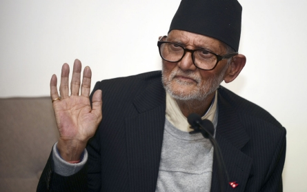 Nepal's Koirala resigns as PM and seeks re-election