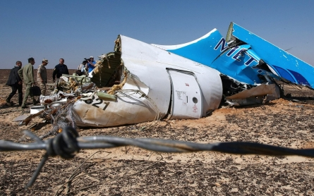 Russian airliner may have been 'downed by bomb'