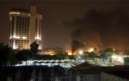 At least 10 killed by car bombs at Baghdad hotels