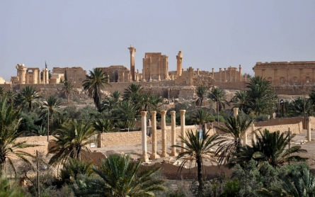ISIL blows up more ancient shrines near Palmyra