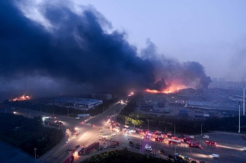 Thumbnail image for China orders evacuations at blast site as fear of toxic gases spreads