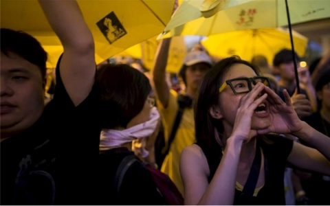 Thumbnail image for Hong Kong marks anniversary of mass protests