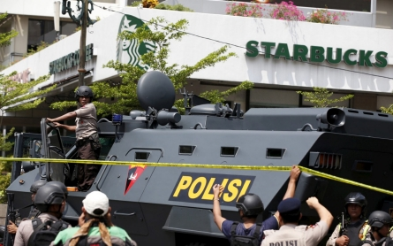 Jakarta attacks: Explosions and gunfire rock capital