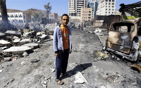 Thumbnail image for 'Humanitarian catastrophe' unfolding in Yemen, UN says