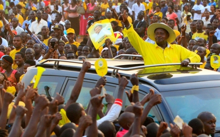 Rigging claims and arrest mar voting in Uganda