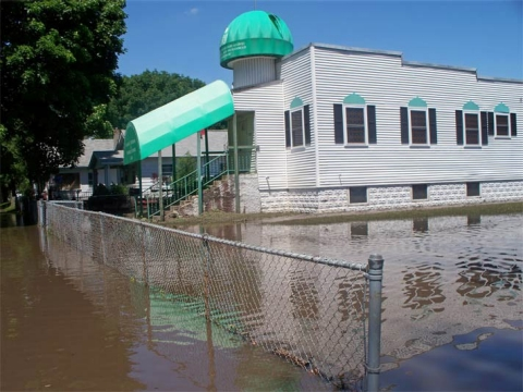 Mother Mosque took on 10 feet of water during the flood of 2008.