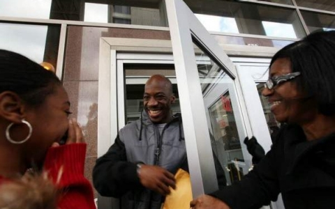 In 2009, Dwayne Provience walks free