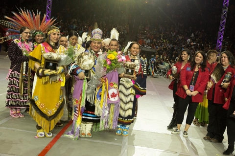 Miss Indian World, Gathering of the Nations, Indian Country