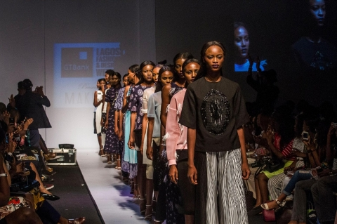 Lagos fashion week Maki Oh
