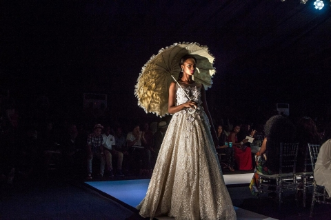 Lagos fashion week Ejiro Amos Tafiri