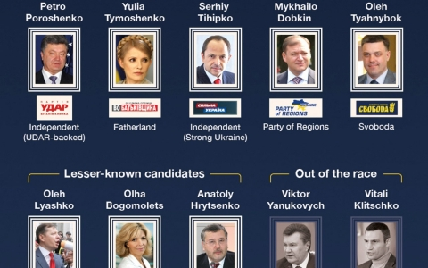 Thumbnail image for Infographic: Ukraine's 2014 presidential election