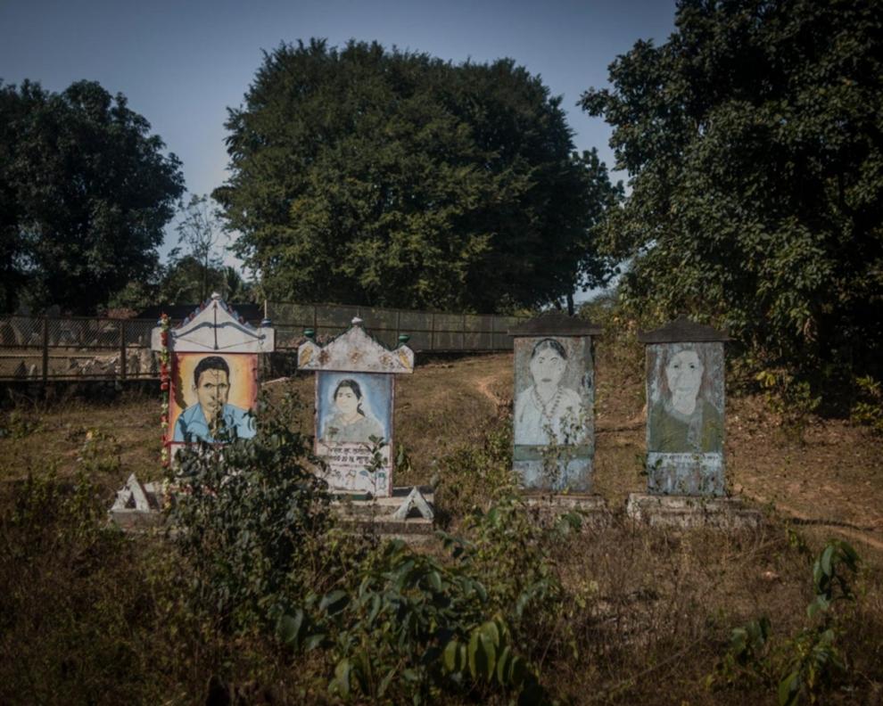 Adivasi graves