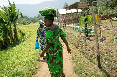 Intervention brigade base in her village of lukweti allison shelley