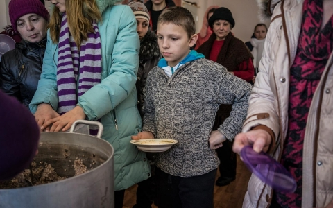 Thumbnail image for 'Kiev has just forgotten about us': Eastern Ukrainian evacuees scrape by
