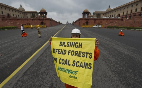 Thumbnail image for After months of tussle, India suspends Greenpeace