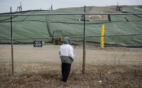 St. Louis nuclear waste West Lake landfill