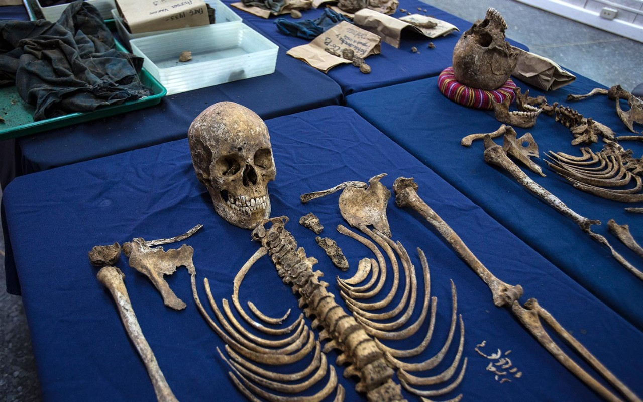 bringing up the bodies in guatemala