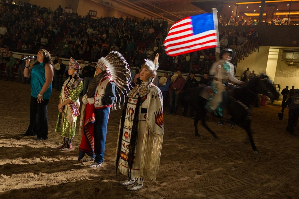 The Coolest Cowboys Are From Indian Country At National