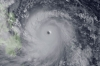 Super Typhoon Haiyan approaches the Philippines on Thursday, in a satellite image from the Japan Meteorological Agency.