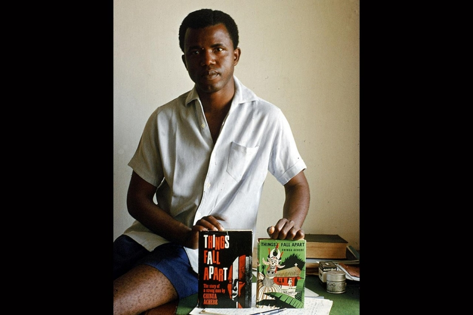 image africa chinua achebe thesis In 1958, achebe responded with his own novel about nigeria, things fall apart, which was one of the first books to tell the story of european colonization from an african perspective (it has.