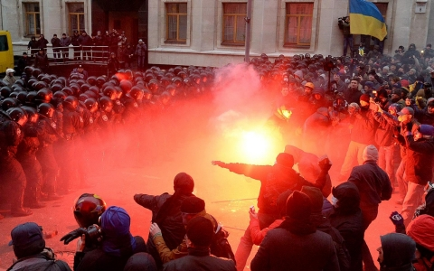 Thumbnail image for Photos: Protests in the Ukraine